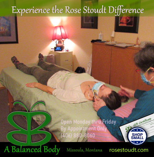 Rose Stoudt offers NonDoing Biodynamic Cranial Sacral Therapy in Missoula MT
